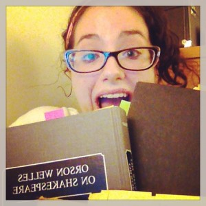 Me with my new best friends. Notice the post-its. As seen on instagram (follow me @thefabjessgoing!)
