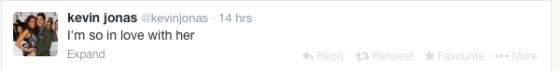 aww kevein tweet